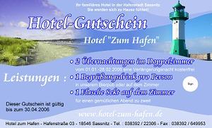 Gutschein Hotel De